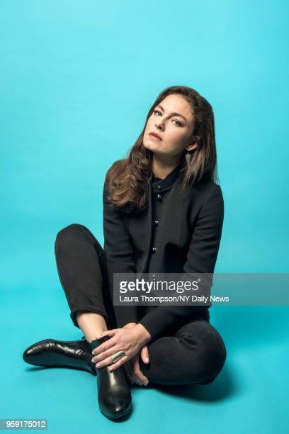 Actress Alexa Davalos is photographed for NY Daily News on October 8, 2016 in New York City. CREDIT MUST READ: Laura Thompson/NY Daily News/Contour RA