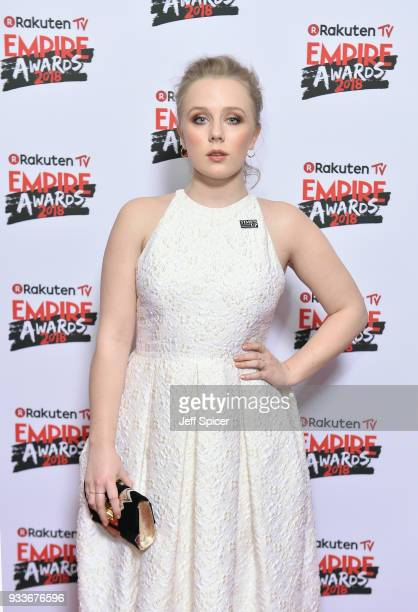 Actress Alexa Davies attends the Rakuten TV EMPIRE Awards 2018 at The Roundhouse on March 18 2018 in London England