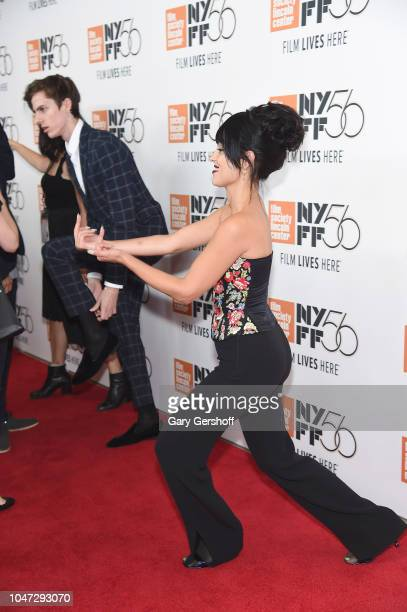 Actress Alexa Demie attends the New York premiere of 'Mid90s' during the 56th New York Film Festival at Alice Tully Hall Lincoln Center on October 7...