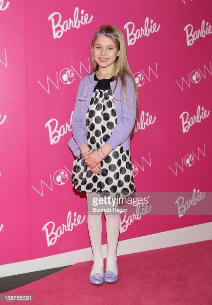 Actress Alexa Gerasimovich attends the Barbie The Dream Closet event during MercedesBenz Fashion Week at David Rubenstein Atrium on February 11 2012...