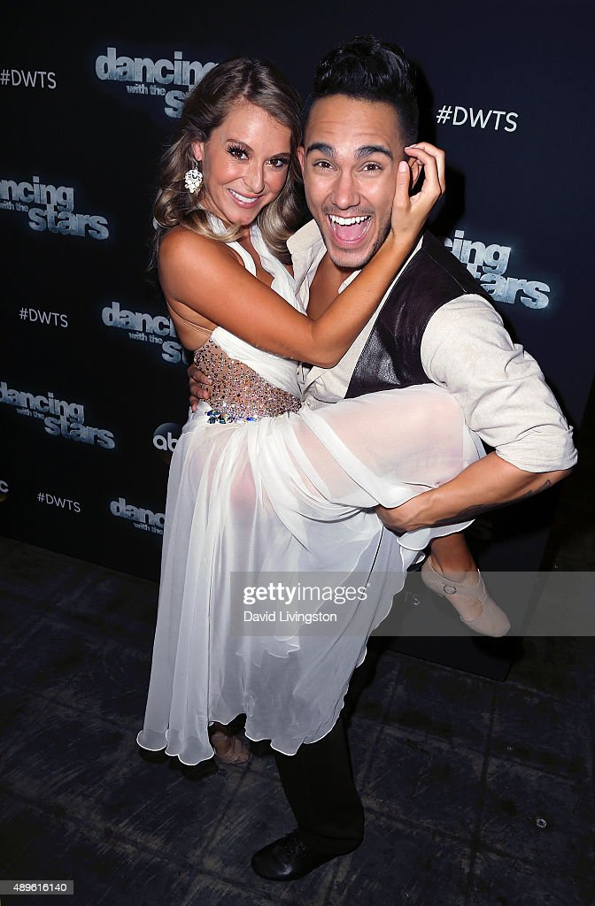 """""""Dancing With The Stars"""" Season 21 - September 22nd, 2015 : News Photo"""