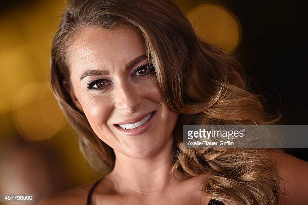 Actress Alexa PenaVega arrives at the 2014 NCLR ALMA Awards at Pasadena Civic Auditorium on October 10 2014 in Pasadena California