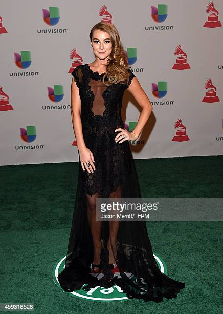 Actress Alexa PenaVega attends the 15th Annual Latin GRAMMY Awards at the MGM Grand Garden Arena on November 20 2014 in Las Vegas Nevada
