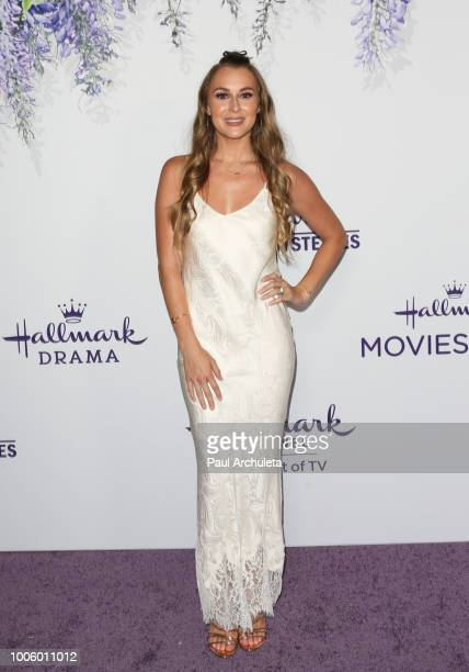 Actress Alexa PenaVega attends the 2018 Hallmark Channel Summer TCA at Private Residence on July 26 2018 in Beverly Hills California