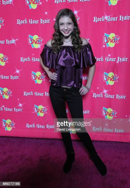 Actress Alexa Reddy attends social media influencer Annie LeBlanc's 13th birthday party at Calamigos Beach Club on December 9 2017 in Malibu...