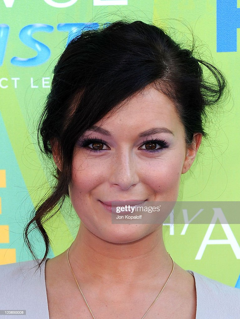 Actress Alexa Vega arrives at the 2011 Teen Choice Awards held at Gibson Amphitheatre on August 7, 2011 in Universal City, California.