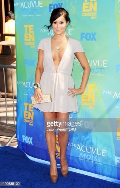 Actress Alexa Vega arrives at the 2011 Teen Choice Awards held at the Gibson Amphitheatre on August 7 2011 in Universal City California