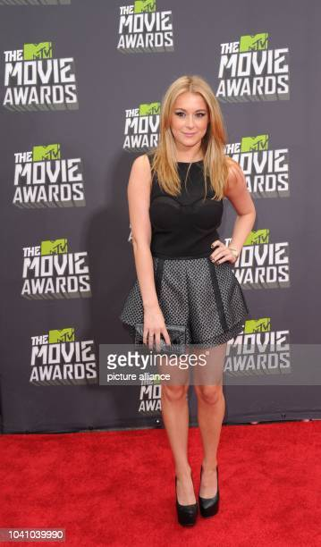 US actress Alexa Vega arrives at the 2013 MTV Movie Awards at Sony Pictures Studios in Culver City Los Angeles USA on 14 April 2013 Photo Hubert...