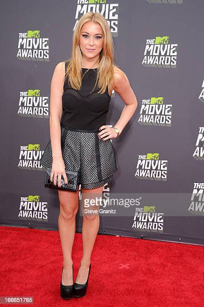 Actress Alexa Vega arrives at the 2013 MTV Movie Awards at Sony Pictures Studios on April 14 2013 in Culver City California