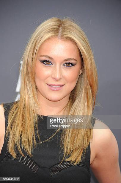 Actress Alexa Vega arrives at the 2013 MTV Movie Awards held at Sony Pictures Studios in Culver City