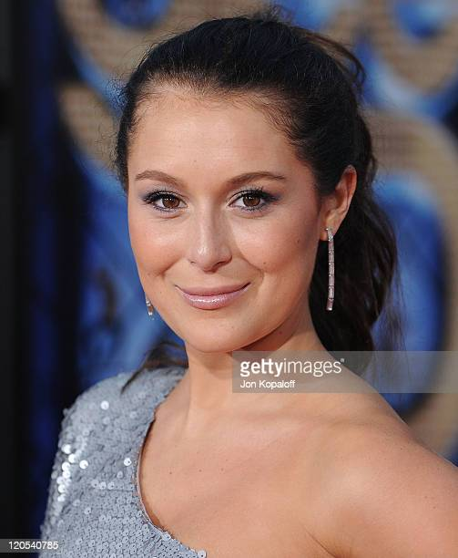 """Actress Alexa Vega arrives at the Los Angeles Premiere """"GLEE: The 3D Concert Movie"""" at Regency Village Theatre on August 6, 2011 in Westwood,..."""