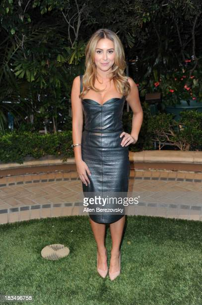 Actress Alexa Vega attends Open Road Films' Machete Kills press conference at Four Seasons Hotel Los Angeles at Beverly Hills on October 6 2013 in...