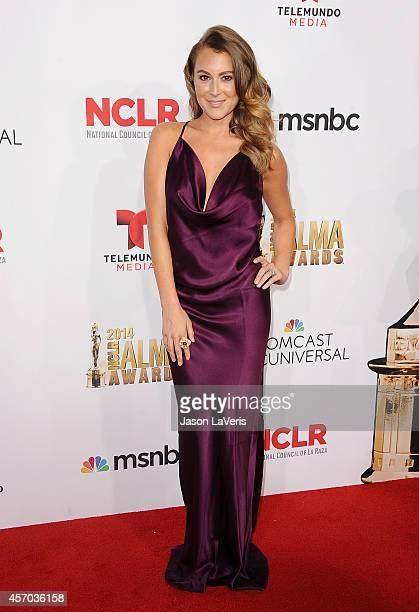 Actress Alexa Vega attends the 2014 NCLR ALMA Awards at Pasadena Civic Auditorium on October 10 2014 in Pasadena California