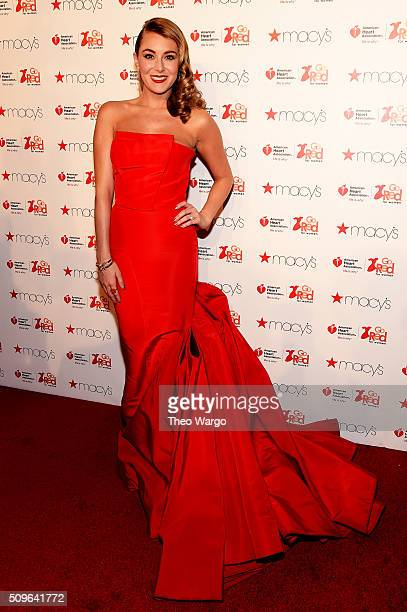 Actress Alexa Vega attends The American Heart Association's Go Red For Women Red Dress Collection 2016 Presented By Macy's at The Arc Skylight at...