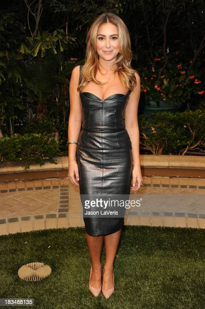 "Actress Alexa Vega attends the ""Machete Kills"" press conference at Four Seasons Hotel Los Angeles at Beverly Hills on October 6, 2013 in Beverly..."