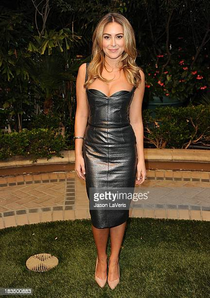 Actress Alexa Vega attends the 'Machete Kills' press conference at Four Seasons Hotel Los Angeles at Beverly Hills on October 6 2013 in Beverly Hills...