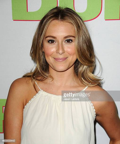 Actress Alexa Vega attends the premiere of The Duff at TCL Chinese 6 Theatres on February 12 2015 in Hollywood California
