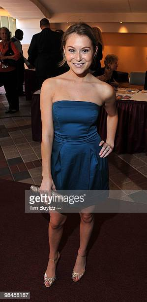 Actress Alexa Vega attends the Sunscreen Film Festival Opening Night at Baywalk Muvico on April 14 2010 in St Petersburg Florida