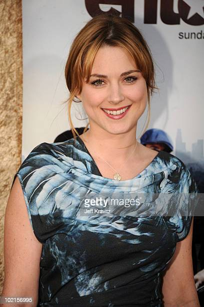 Actress Alexandra Breckenridge arrives at HBO's 'Entourage' Season 7 premiere held at Paramount Theater on the Paramount Studios lot on June 16 2010...