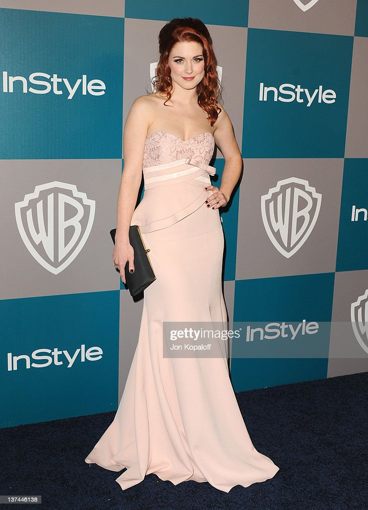 Actress Alexandra Breckenridge arrives at the 13th Annual Warner Bros. And InStyle Golden Globe After Party held at The Beverly Hilton hotel on January 15, 2012 in Beverly Hills, California.