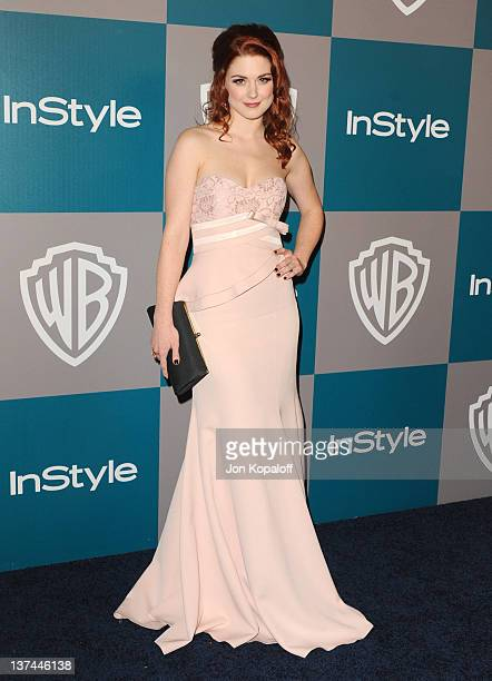 Actress Alexandra Breckenridge arrives at the 13th Annual Warner Bros And InStyle Golden Globe After Party held at The Beverly Hilton hotel on...