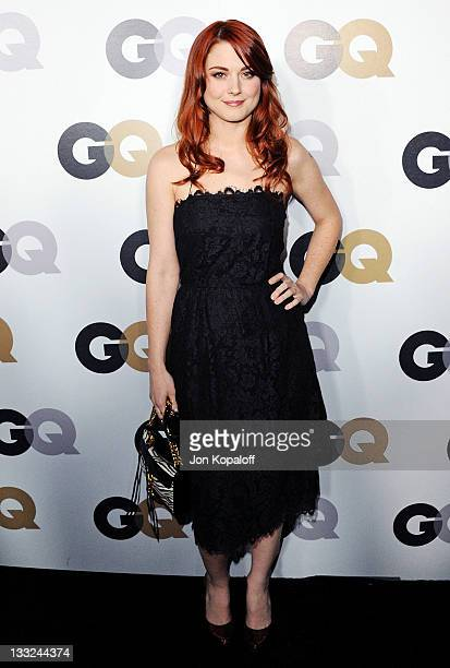 Actress Alexandra Breckenridge arrives at the 16th Annual GQ 'Men Of The Year' Celebration at Chateau Marmont on November 17 2011 in Los Angeles...