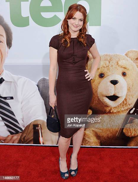Actress Alexandra Breckenridge arrives at the Los Angeles Premiere 'Ted' at Grauman's Chinese Theatre on June 21 2012 in Hollywood California