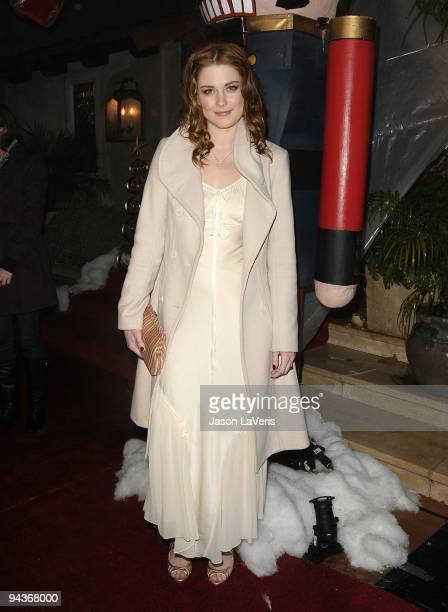 Actress Alexandra Breckenridge attends the 'Family Guy Something Something Something Dark Side' DVD release party on December 12 2009 in Beverly...