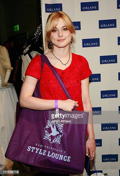 Actress Alexandra Breckenridge attends the Kari Feinstein Winter Style Lounge at Social Hollywood on January 10 2008 in Hollywood Califonia