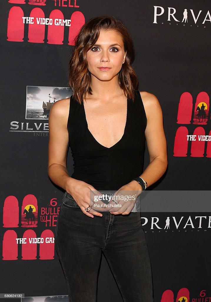 Actress Alexandra Chando attends the launch of '6 Bullets To Hell' the video game and the movie on May 10, 2016 in Los Angeles, California.
