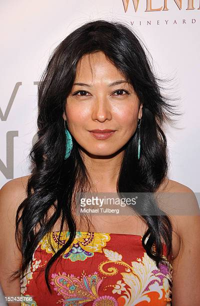 Actress Alexandra Chun arrives at Creative Visions Foundation's TURN ON LA Gala on September 20 2012 in Santa Monica California