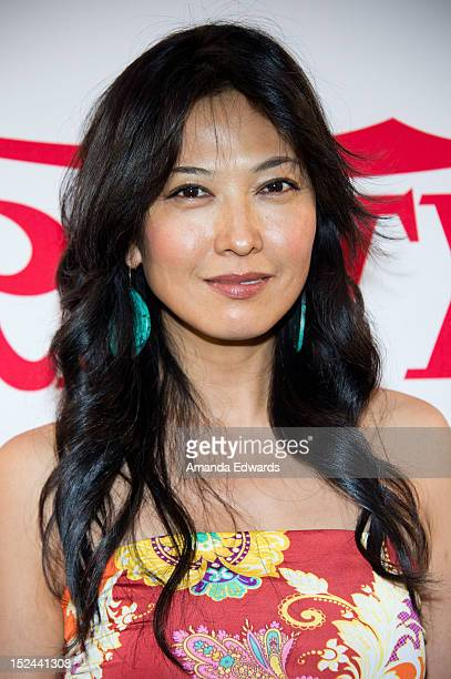 Actress Alexandra Chun arrives at the Creative Visions Foundation's TURN ON LA event on September 20 2012 in Santa Monica California