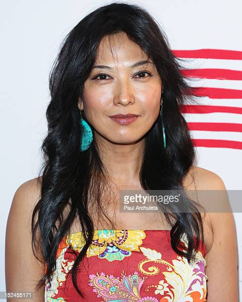 Actress Alexandra Chun attends the Creative Visions Foundation's TURN ON LA on September 20 2012 in Santa Monica California
