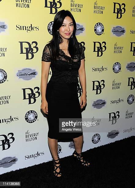 Actress Alexandra Chun attends the DB3 presents Fashion Magazine SINGLES event at The Beverly Hilton hotel on May 12 2011 in Beverly Hills California
