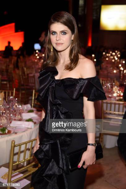 Actress Alexandra Daddario attends 11th Annual DKMS 'BIG LOVE' Gala on April 27 2017 in New York City