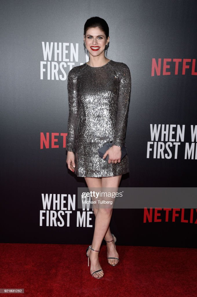 Actress Alexandra Daddario attends a special screening of Netflix's 'When We First Met' at ArcLight Hollywood on February 20, 2018 in Hollywood, California.