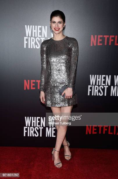 Actress Alexandra Daddario attends a special screening of Netflix's 'When We First Met' at ArcLight Hollywood on February 20 2018 in Hollywood...