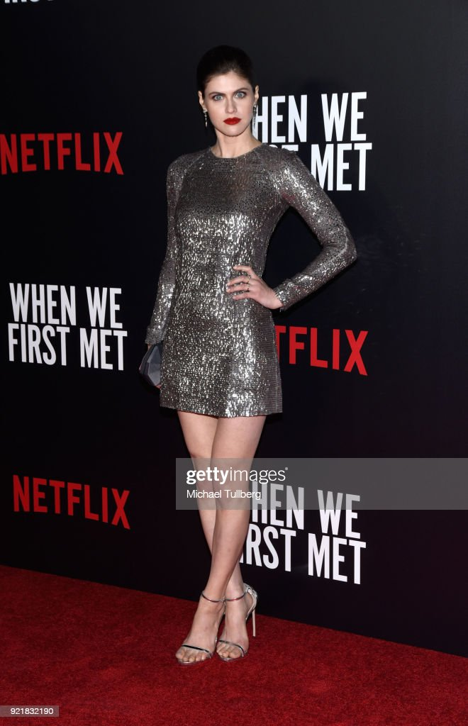 "Special Screening Of Netflix's ""When We First Met"" - Arrivals : News Photo"
