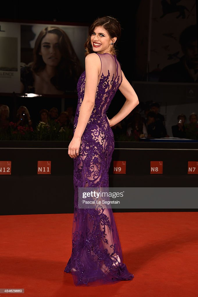 Actress Alexandra Daddario attends 'Burying The Ex' Premiere during the 71st Venice Film Festival on September 4, 2014 in Venice, Italy.