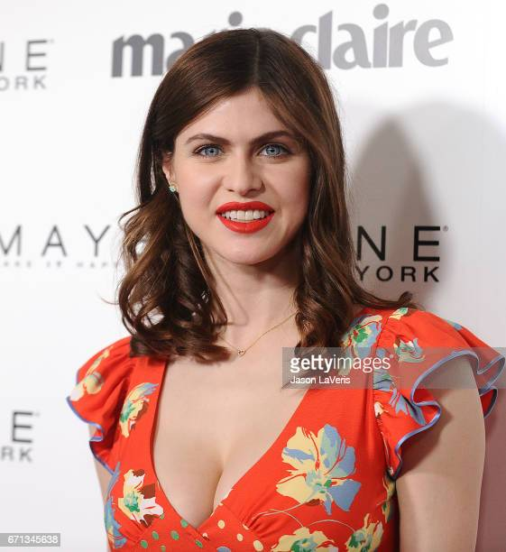 Actress Alexandra Daddario attends Marie Claire's Fresh Faces event at Doheny Room on April 21, 2017 in West Hollywood, California.