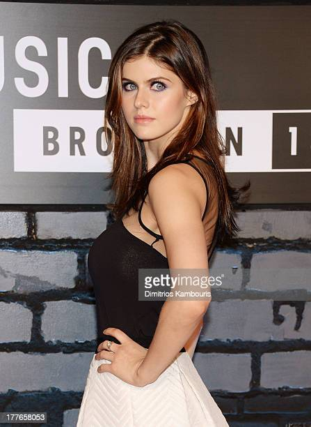 Actress Alexandra Daddario attends the 2013 MTV Video Music Awards at the Barclays Center on August 25, 2013 in the Brooklyn borough of New York City.