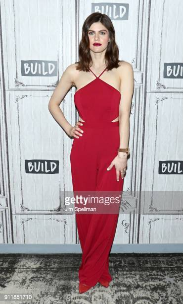Actress Alexandra Daddario attends the Build Series to discuss 'When We First Met' at Build Studio on January 29 2018 in New York City