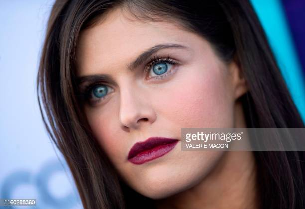 US actress Alexandra Daddario attends the CBS All Access Premiere Why Women Kill at the Wallis Annenberg Center in Beverly Hills California on August...