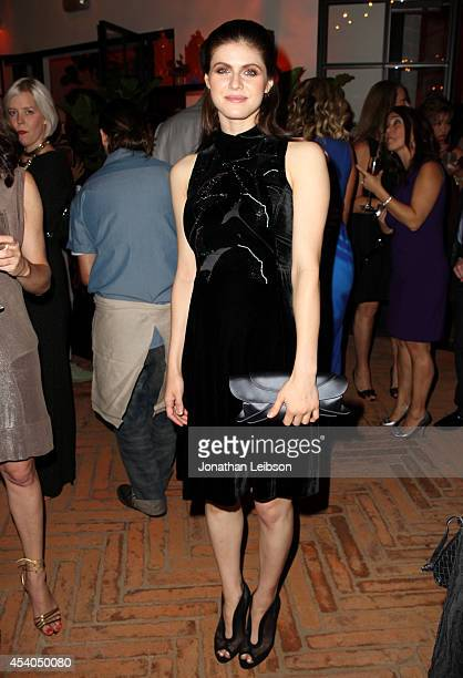 Actress Alexandra Daddario attends Variety and Women in Film Emmy Nominee Celebration powered by Samsung Galaxy on August 23 2014 in West Hollywood...
