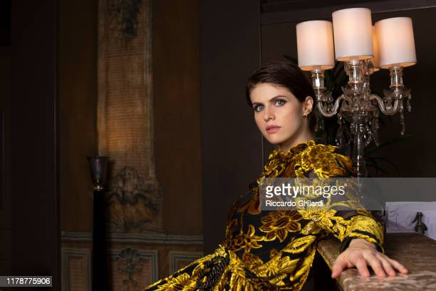 Actress Alexandra Daddario poses for a portrait on October 19 2019 in Rome Italy