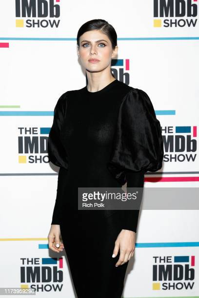 Actress Alexandra Daddario visit's 'The IMDb Show' LIVE on Twitch on September 11, 2019 in Studio City, California. This episode of 'The IMDb Show'...