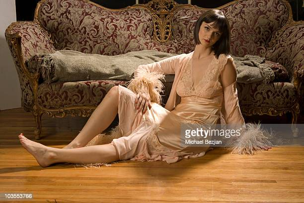 Actress Alexandra Ella poses for portrait for the PhotoFund on August 23 2010 in Los Angeles California