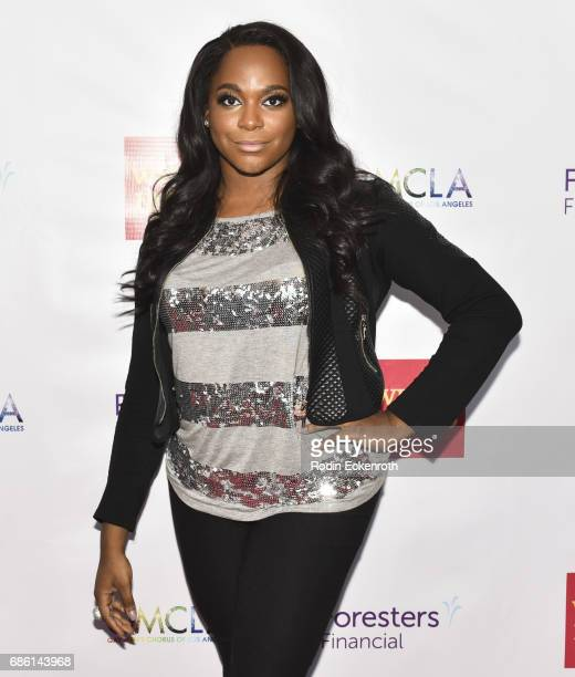 Actress Alexandra Grey attends the Gay Men's Chorus of Los Angeles 6th Annual Voice Awards at JW Marriott Los Angeles at LA LIVE on May 20 2017 in...