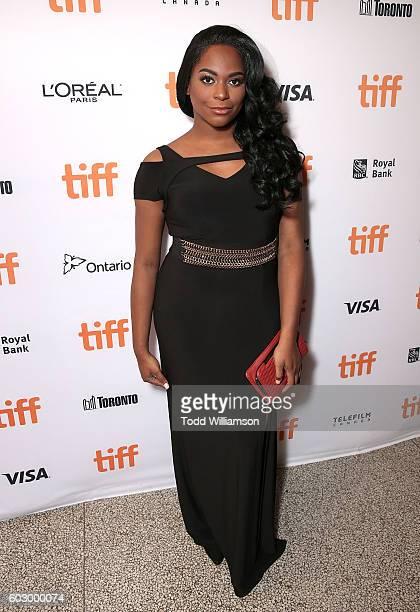 Actress Alexandra Grey attends the Transparent Season Three World Premeire At The Toronto International Film Festival on September 11 2016 in Toronto...