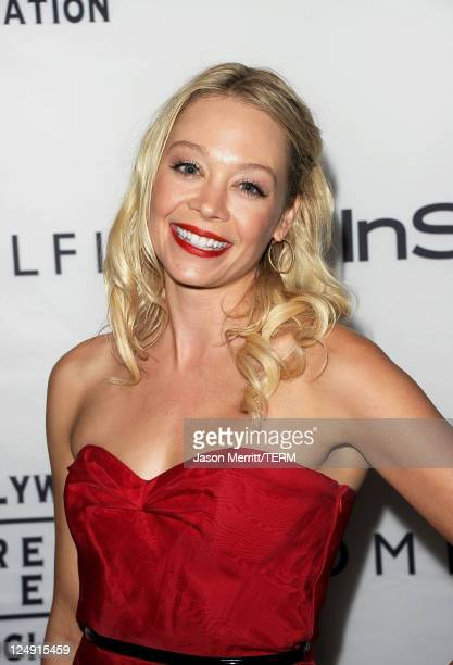Actress Alexandra Holden arrives at the InStyle And The Hollywood Foreign Press Association's Annual Event during the 2011 Toronto International Film...